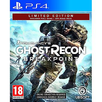 Tom Clancys Ghost Recon Breakpoint Limited Edition PS4-spel