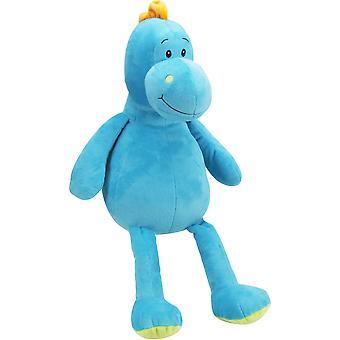 Erittäin pehmeä ystävällinen Dino 12,5 tuuman muhkea (sininen)