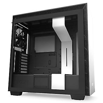 NZXT H710 Midi Tower Gaming Case - White Tempered Glass