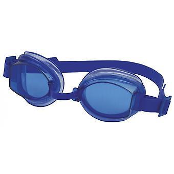 SwimTech Aqua Adult Goggles Blue