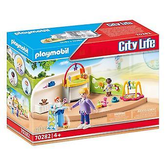 Playset City Life Baby Room Playmobil 70282 (40 pcs)