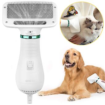 Pet Hair Dryer 2 In 1 Pet Grooming Hair Dryer Brush Comb For Cats Dogs