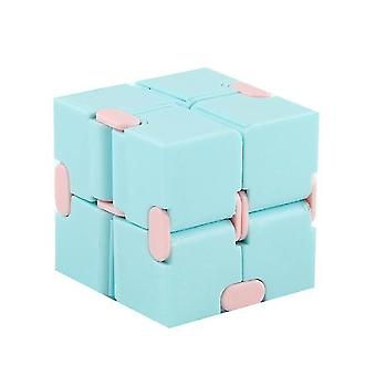 Macaron Meilong Magic Cube Meilong 2x2x2 Cubing Classroom Meilong Speed Cube (niebieski)
