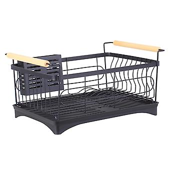 Dish Rack Bowl Holder Kitchen Sink Drying Over Organizer With Chopsticks Cage Bags & Baskets