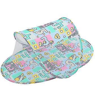Kinderzelt Faltbare Jurte Idee Tuch Hochwertige Bootstyp Baby Moskitonetz (Grün)