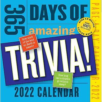 365 Days of Amazing Trivia PageADay Calendar 2022 by Workman Publishing