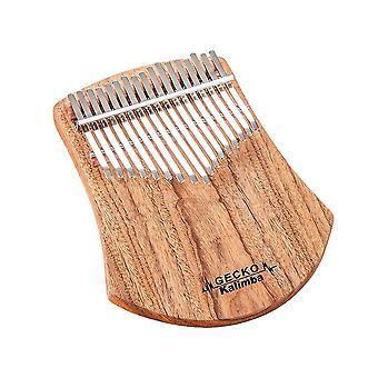 Glockenspiels xylophones 17 مفاتيح كاليمبا الأفريقية الكافور الخشب الإبهام البيانو إصبع قرع الموسيقية