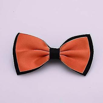 Neckties klassiska solida magra fluga för man