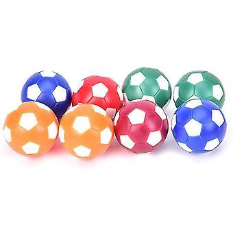 Foosball pöydän osat tarvikkeet mini värikäs pöytä jalkapallo vaihtopallot