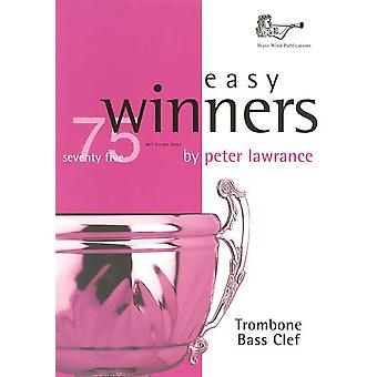Easy Winners Trombone Bass Clef with CD (Solo Brass - Trombone/Euph)