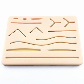 Chirurgie de la suture de la peau Pratique Silicone Pad - Blessure Simulé module de suture de la peau