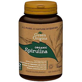 Organic Spirulina, 500mg - 180 tablets
