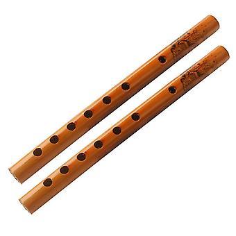 Bambuhuilu pystysuora huilu klarinetti soitin