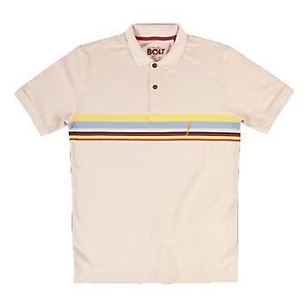 Lightning bolt alaia polo shirt
