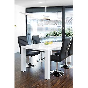 Tomasso's L'Aquila Dining Table - Modern - White - Mdf - 0 cm x 0 cm x 0 cm