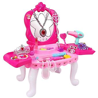 Koolmei 24-piece Dressing Table Cosplay Set For Girls-hairpin + Ring + Mirror