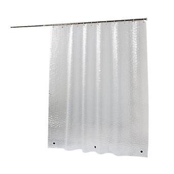 Stoff Dusche Vorhang weiße Dusche Vorhang Badezimmer wasserdicht