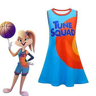 Space Jam 2 Lola Tune Squad Mid-length Vest Skirt Sleeveless Dress