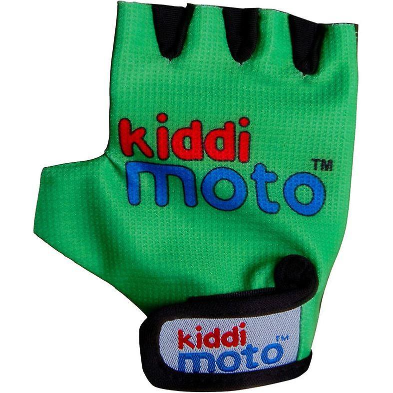 Kiddimoto Cycling Gloves Neon Green