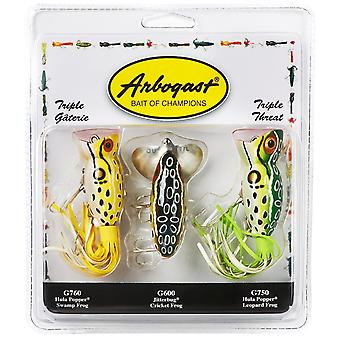 Arbogast Triple Threat Varying Weights Fishing Lures