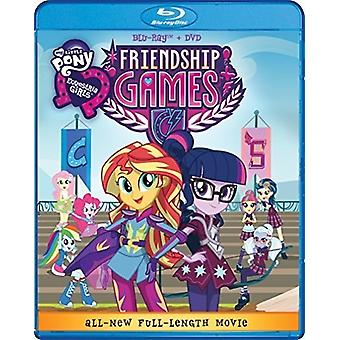 My Little Pony Equestria Girls Friendship Games [Blu-ray] USA import