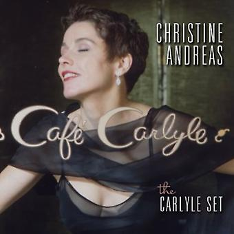 Christine Andreas - Carlyle Set-Live at Cafe Carlyle [CD] USA import