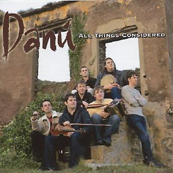 Danu - All Things Considered [CD] USA importeren