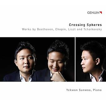 Beethoven*L.V. / Chopin / Tchaikovsky / Sunwoo - Crossing Spheres [CD] USA import