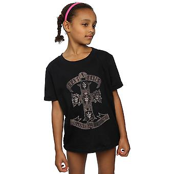 Guns N Roses Girls Appetite For Destruction Sepia T-Shirt