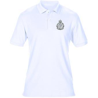 Die irische B&W Wappen - offizielle britische Armee Herren Polo-Shirt