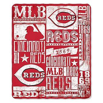 Cincinnati Reds MLB Northwest Fleece Throw