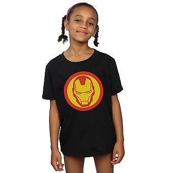 Marvel Girls Avengers Iron Man Simple Symbol T-Shirt