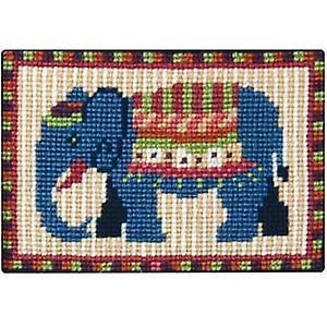Blue Elephant Kit Tapisserie