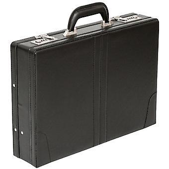 Tassia Attache valigetta in pelle Look Pu esecutivo Custodia Borsa Business in espansione