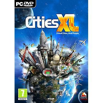 Cities XL (PC DVD)-ny