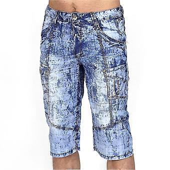 Moda hombres Jeans Capri 2 Bermudas Cargo Shorts Vintage shorts Chino