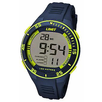 Limit Mens Navy Strap Digital Dial 5574.24 Watch