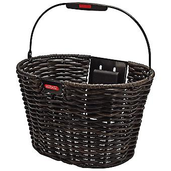 STRUCTURA KLICKfix oval front bicycle basket
