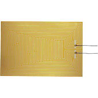 Thermo poliestere riscaldamento della stagnola autoadesiva 12 Vdc, 12 V AC 50 W IP valutare IPX4 (L x W) 600 x 400 mm