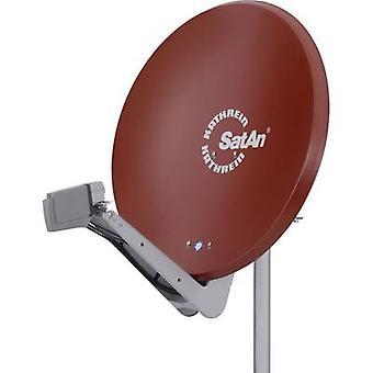 Kathrein CAS 90ro satelit antena 90 cm material reflectorizant: aluminiu rosu brun
