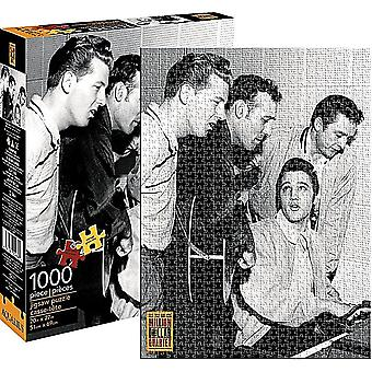 Million Dollar Quartet (Elvis, J. kontanter) 1000 brik puslespil: 690 Mm X 510 Mm