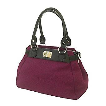 Harris Tweed Handbag Melissa (Purple -HT)