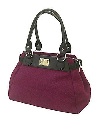 Harris Tweed Handbag Melissa (Purple -HT)