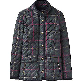 Joules Womens/Ladies Newdale Print Casual Quilted Button Jacket Coat