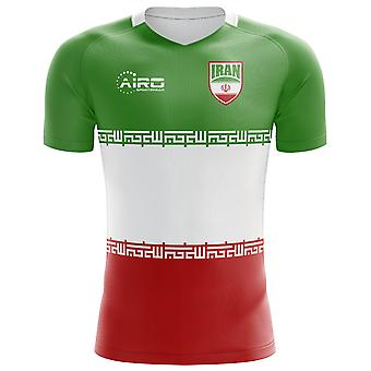 2020-2021 Iran Flag Concept Football Shirt - Womens