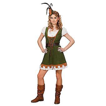 Miss Robin Maid Marion Robin Hood Mittelalter Kostüm für Damen