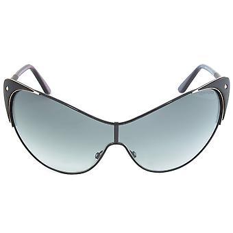 FT0364 de gafas de sol Tom Ford Vanda 01B | Marco negro | Lente gris degradada