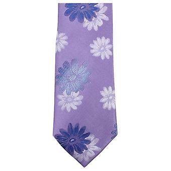 Cravatte di Knightsbridge floreale Tie - viola