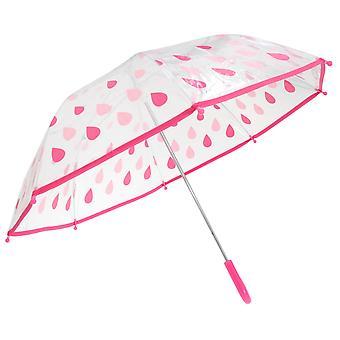 Drizzles Childrens/Kids Raindrops Umbrella