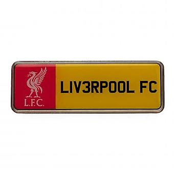 Liverpool Number Plate Badge
